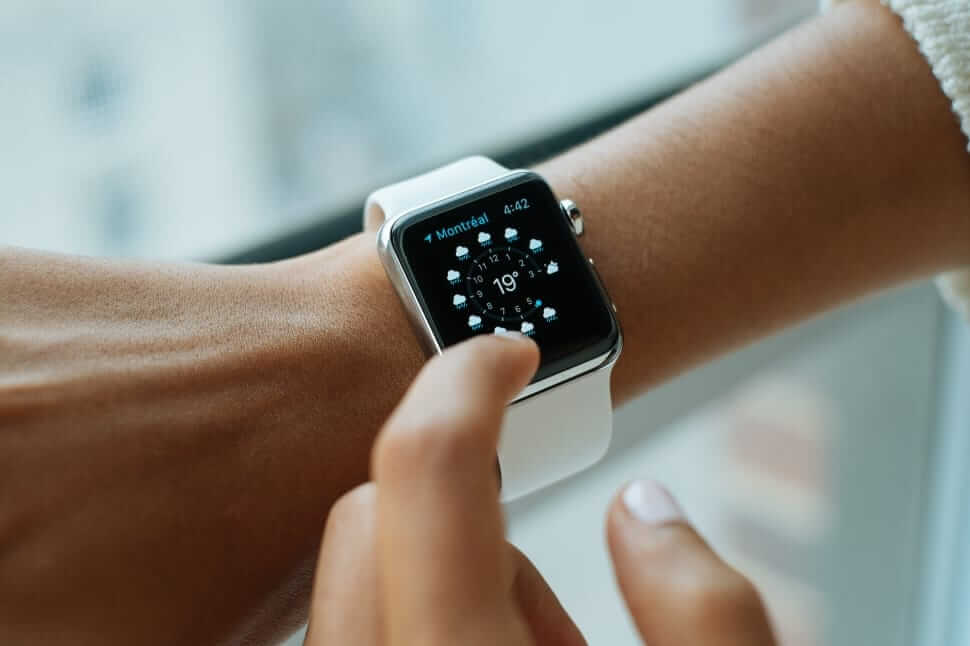Mobile app development that works with wearables