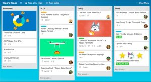 Trello, one of the top productivity apps of 2019