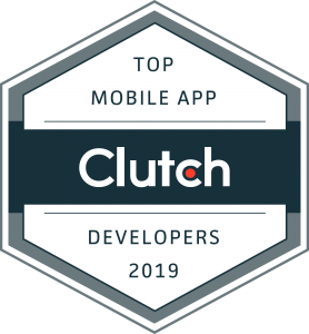 Top developer Clutch badge