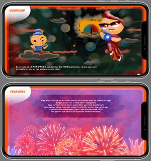 Base Jump Mobile game