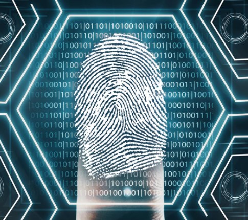 How are biometrics used in software security